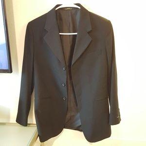 Black Lined Professional Blazer Liz Claiborne